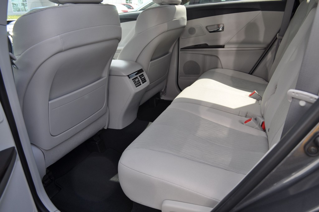 Toyota Venza Back Seat