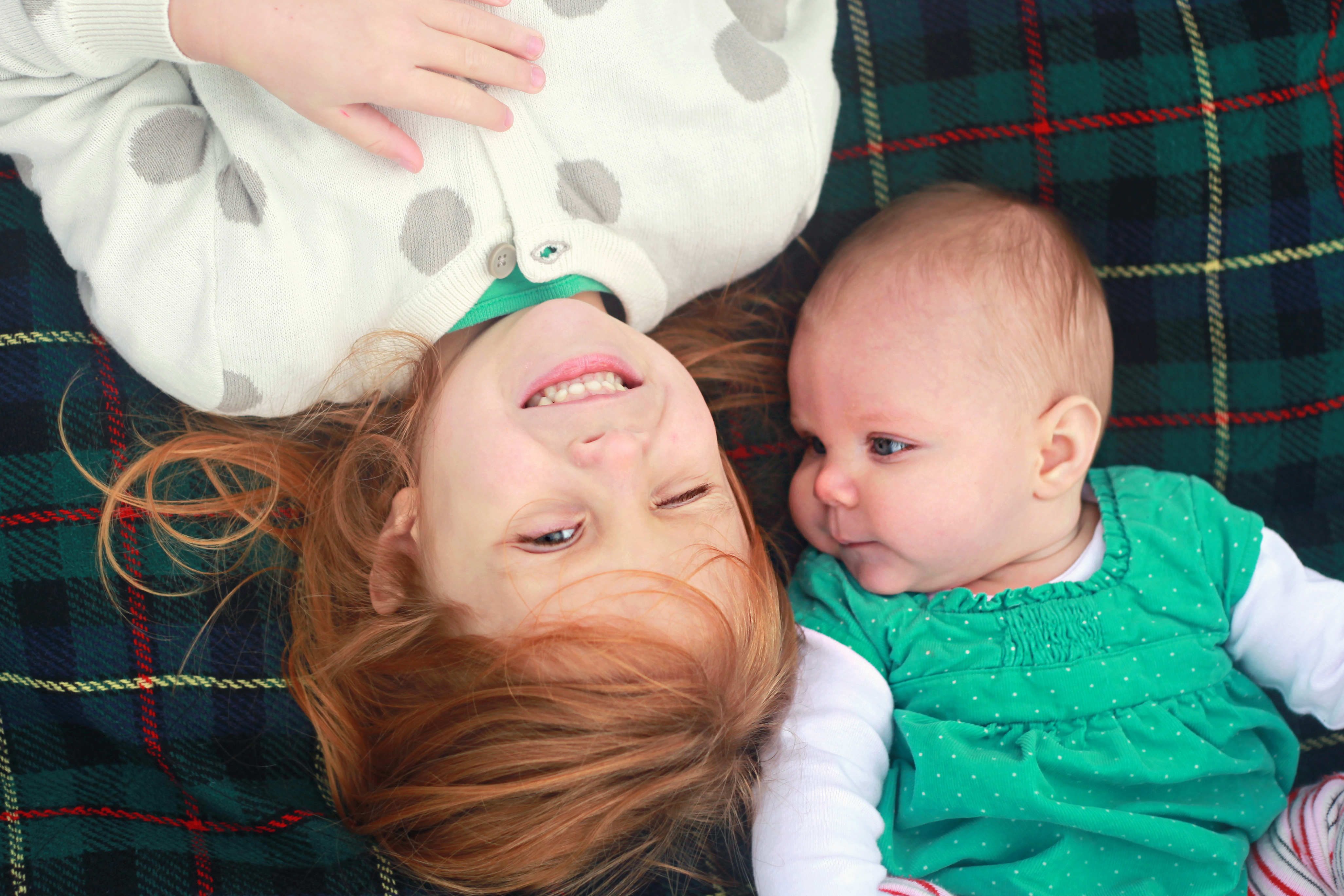A four year age difference…7 months in | Somewhere In The Middle